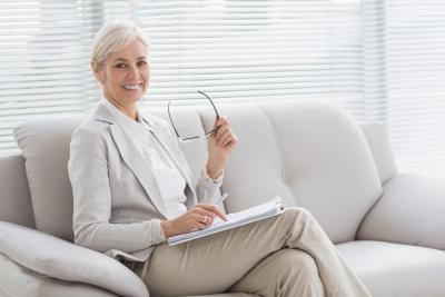 female therapist
